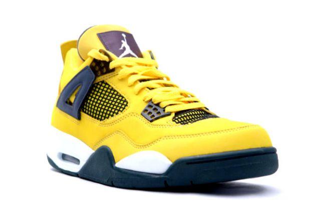 "c73b98da434 Nike Air Jordan Retro 4 ""Lightning"" Set To Return In March 2013 ..."