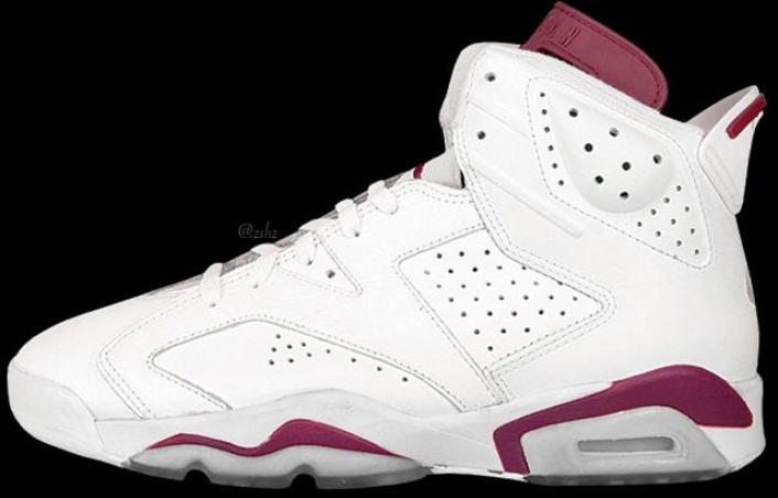 "4bc7cc8046cd4c First Look  Nike Air Jordan Retro 6 ""Maroon"" – Jon Phenomenon"