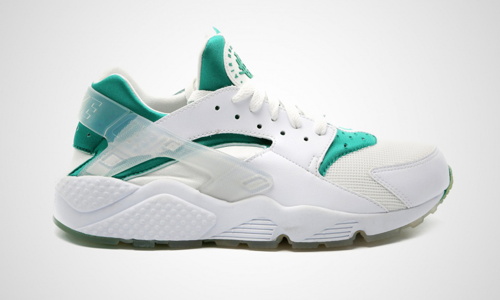 "outlet store d78a2 3185b Nike Air Huarache ""Paris"" Color WhiteWhite-Retro Teal-White Style Code  704830-130"