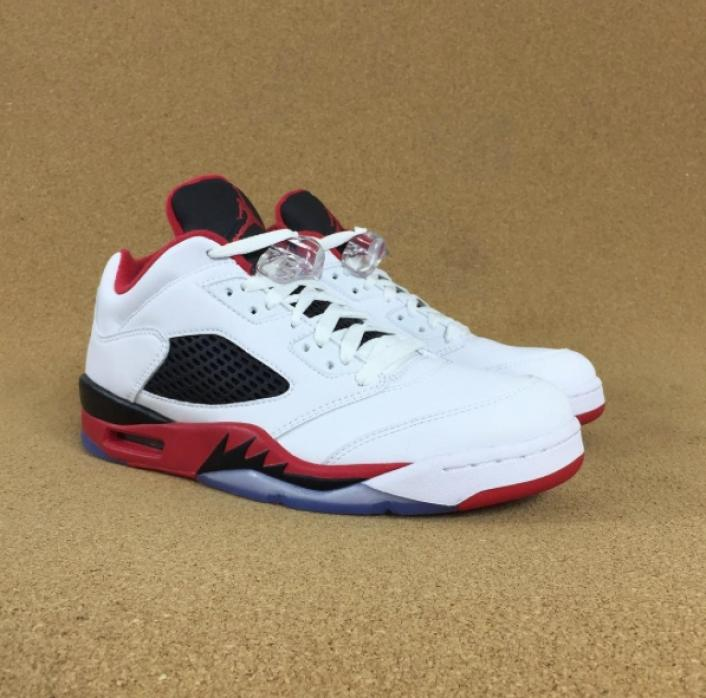 new styles e23ad 84964 Nike Air Jordan 5 Low 'Fire Red' On-Foot Review!! – Jon ...